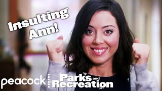 getlinkyoutube.com-Parks and Recreation - April's All-Time Insults for Ann (Supercut)
