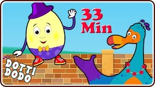 getlinkyoutube.com-Humpty Dumpty Sat On A Wall And Lots More Popular Nursery Rhymes For Children By Dotti Dodo
