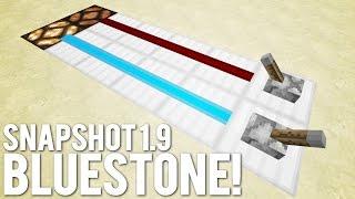 getlinkyoutube.com-Minecraft: Blue Redstone [Minecraft 15w14a Snapshot]