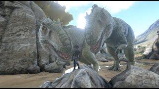 getlinkyoutube.com-ARK Survival Evolved: How to SOLO tame a Giganotosaurus