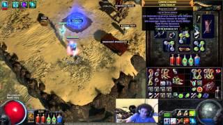 getlinkyoutube.com-Path of Exile - Crit Ele Split Arrow Build