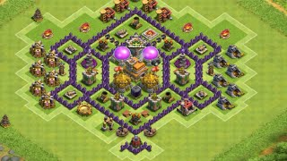 getlinkyoutube.com-CLASH OF CLANS - LAYOUT CV 7 FARM PUSH #EP.10