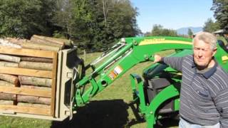 getlinkyoutube.com-Tractor Attachments Canada  - The World's Best Universal Utility Carryall!