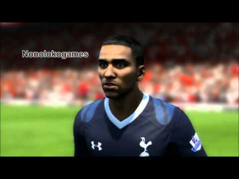 FIFA 13 Faces Manchester United - Liverpool - Athletic Bilbao - Spurs - Fifaallstars.com