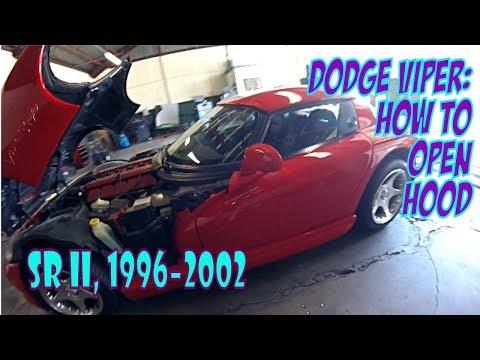 Где у Dodge Viper аккумулятор
