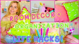 getlinkyoutube.com-DIY Room Decor & Organization Life Hacks!