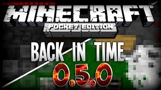 getlinkyoutube.com-MCPE BACK IN TIME! - 0.5.0 Re-Review - Revisiting Old Minecraft PE! | Minecraft Pocket Edition