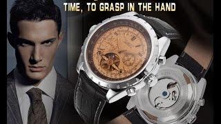 getlinkyoutube.com-Очень функциональные механические часы из Китая.