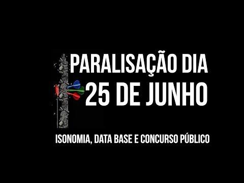 Sindijus-PR convoca servidores para mobilização no dia 25