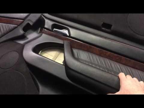 Обшивки дверей Mercedes-Benz w140