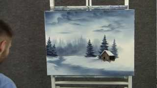 getlinkyoutube.com-Paint with Kevin Hill - Cold Snowy River