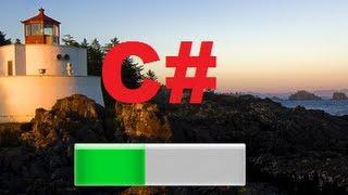 C# Tutorial 87: How to make a Simple Splash Screen with ProgressBar in C#