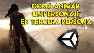 getlinkyoutube.com-como animar un personaje en unity5 - crear un Third person controller