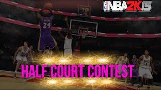 getlinkyoutube.com-NBA2k15: Half Court Challenge! Me VS Aiden