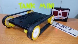 getlinkyoutube.com-DIY Tank mini remote control