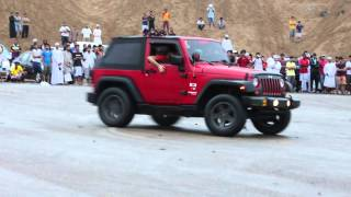 getlinkyoutube.com-Jeep Wrangler & Fj cruiser Drift & Burnout (HD)