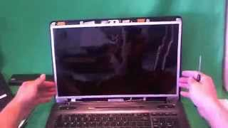 Toshiba Satellite P775 Laptop Screen Replacement Procedure