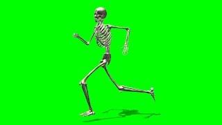 getlinkyoutube.com-running skeleton green screen