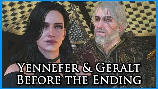 getlinkyoutube.com-Witcher 3: Yennefer's Last Romance Scene before the Ending