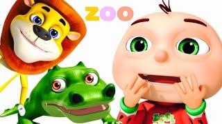 getlinkyoutube.com-Five Little Babies Went To A Zoo | Five Little Babies Collection | Zool Babies Fun Songs