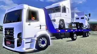 Euro Truck Simulator 2 - Transporte de Caminhões