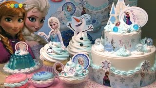 getlinkyoutube.com-【Whipple Craft 'n Fun Creme!】Anna & Elsa Frozen Set ホイップる アナと雪の女王セット