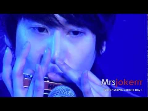 [Fancam] 120427 SS4INA Day 1 Kyuhyun - Isn't she lovely (Solo Performance)