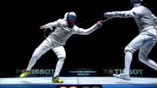 Italia vs Russia 2015 Moscow world Championship men's foil  team final