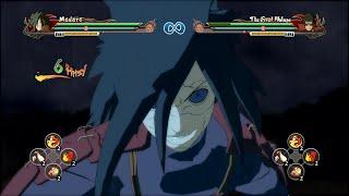 getlinkyoutube.com-Naruto Storm Revolution - Edo Madara Reanimation Resolved Complete Moveset with Command List
