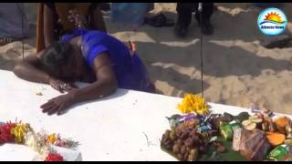 Northern people pay tribute to people who died on tsunami