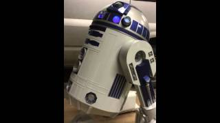 scratch build lifesize 1:1 r2d2 project