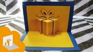 getlinkyoutube.com-tarjeta pop up caja de regalo Cumpleaños