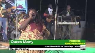 Queen Mamy en LIVE au Festival Reggae du Mali 2015