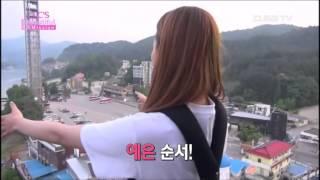 getlinkyoutube.com-Yeeun ( CLC ) and Jungkook ( BTS ) Moment Bungee Jumping
