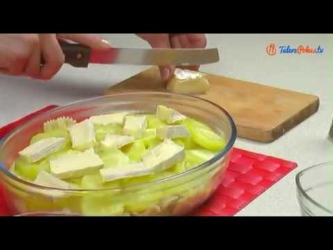 Zapiekanka z makaronem i warzywami