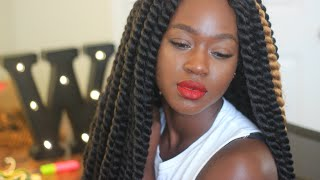 getlinkyoutube.com-How I | Havana Crochet Twist Using Janet Collection Mambo Hair | Wilonda Previlon