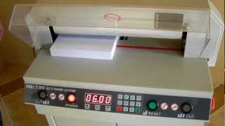 getlinkyoutube.com-GUILLOTINE® EC17/EC19 Electric Paper Cutter Demo