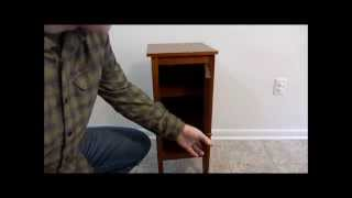 getlinkyoutube.com-$5 DIY Hidden Compartment Night Stand