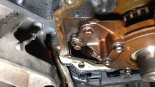 getlinkyoutube.com-Oil Pump Removal Fail - Alternator Bracket Removal GM Chevy Tahoe Vortec LS Engine vid 11