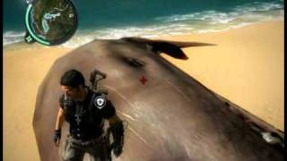 getlinkyoutube.com-Just Cause 2: Dead Whale Found!!!  (Easter Egg)