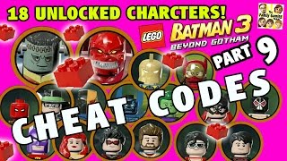 getlinkyoutube.com-Lego Batman 3 Cheat Codes! 18 Characters Unlocked + 5 Red Bricks (Beyond Gotham Part 9)