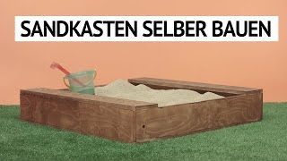 download video sandkasten selber bauen sandkasten bauen. Black Bedroom Furniture Sets. Home Design Ideas