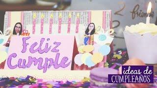 getlinkyoutube.com-Ideas de cumpleaños: ¿Qué regalar?  ✂️ Craftingeek