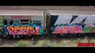 getlinkyoutube.com-Melbourne Train Graffiti 3 (1994-2007 photos) made by narfza