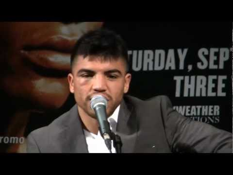 Ortiz vs. Mayweather post-fight press conference, Part 1
