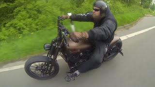getlinkyoutube.com-Customized Harley-Davidson Softail Slim by Thunderbike