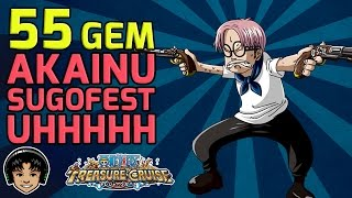 Lady Luck Isn't Kind 55 Gem Global Sugofest! [One Piece Treasure Cruise]