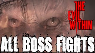 getlinkyoutube.com-The Evil Within All Boss Fights and Ending