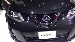 日産 エクストレイルハイブリッド 展示車 東京モータショー2015 動画