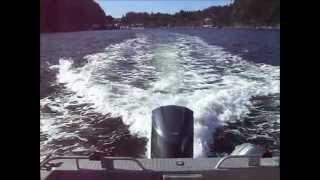 getlinkyoutube.com-Yamaha F350 5.3L V8 Outboard
